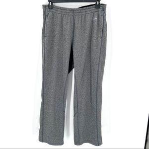 Nike Dri Fit Men's Sweat Pants Joggers Gray Sz XL